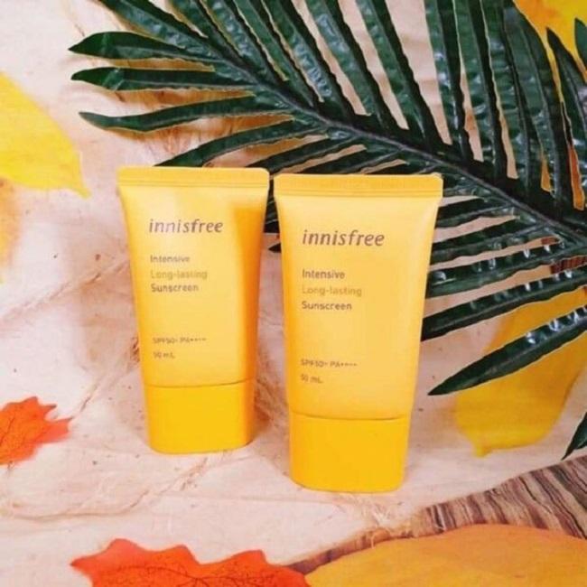 Kem chống nắng Innisfree Intensive Long-Lasting Sunscreen SPF50+ PA++++